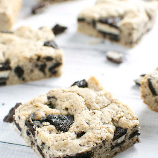 Oreo Cookie Bars.