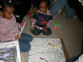 Photo: coloring w/ Keon