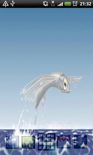 flying fish Live Wallpaper