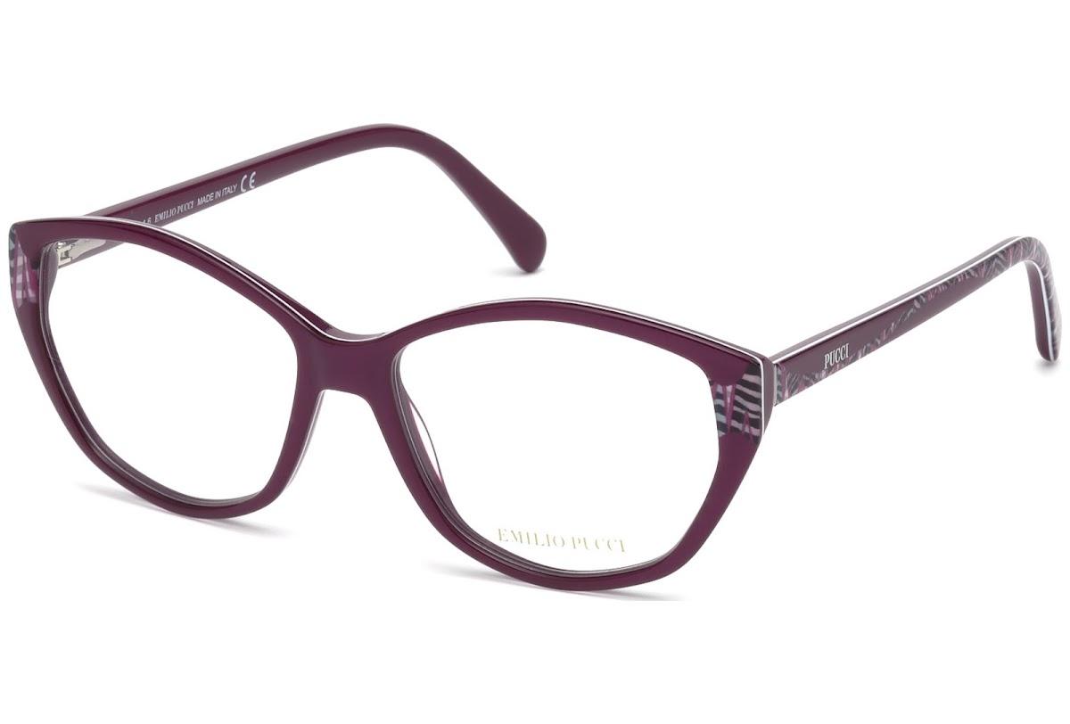 bad400dab67cbd Buy Emilio Pucci EP5050 C55 081 (shiny violet   ) Frames   opti.fashion