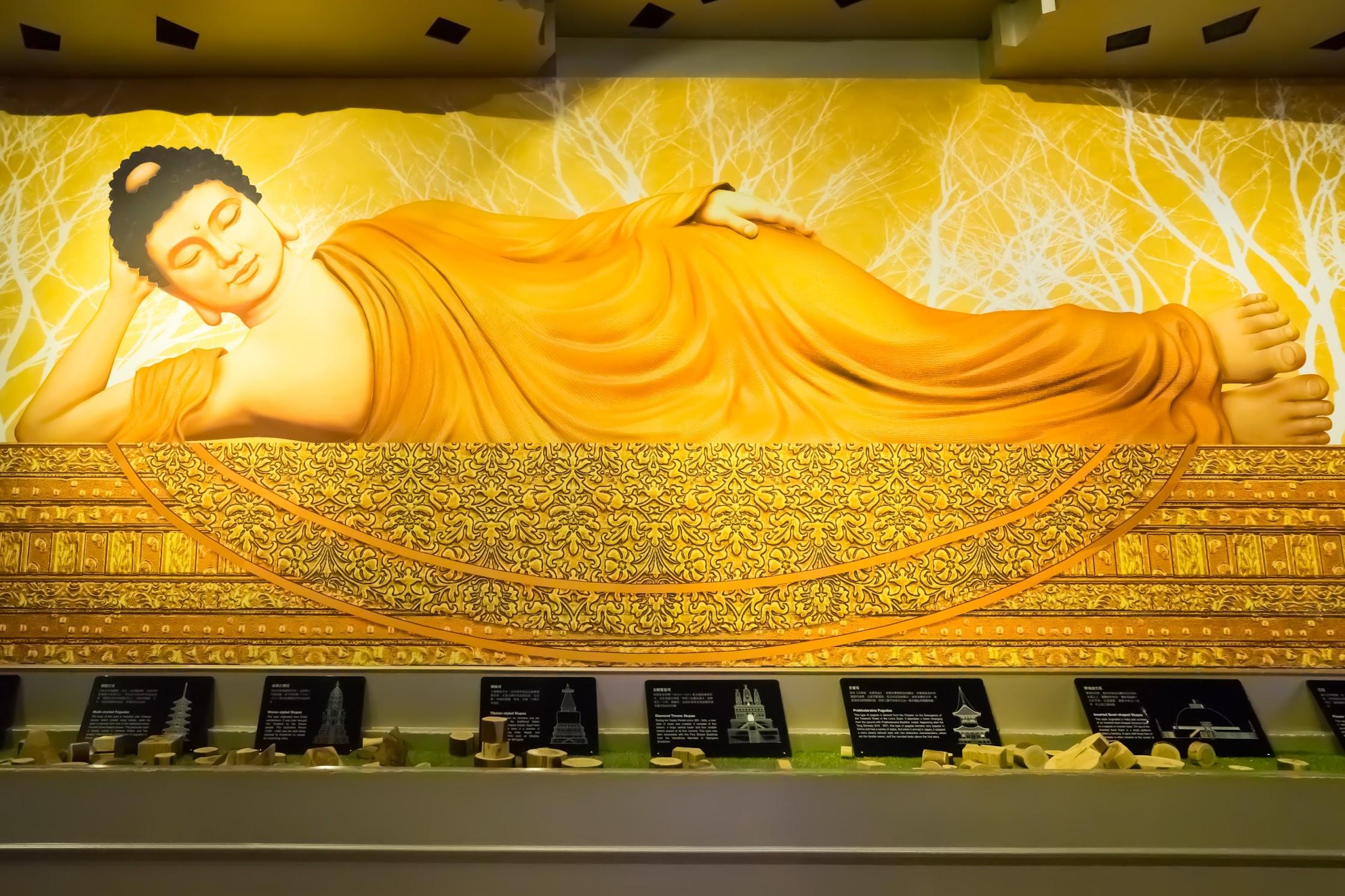台湾 高雄 佛光山佛陀紀念館 展示7