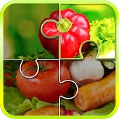 Jigsaw Puzzle for Vegetables