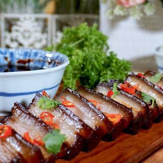 Assam Braised Pork Belly.