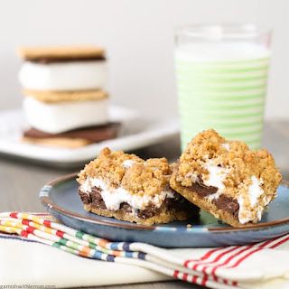 Gooey Baked S'mores Bars