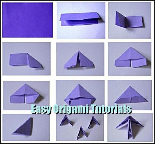 簡単な折り紙チュートリアル