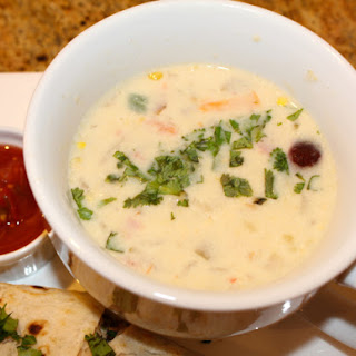 Queso Corn Chowder