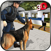 Police Dog Subway Criminals