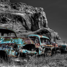 Lost with time by Jeff Niederstadt - Transportation Automobiles