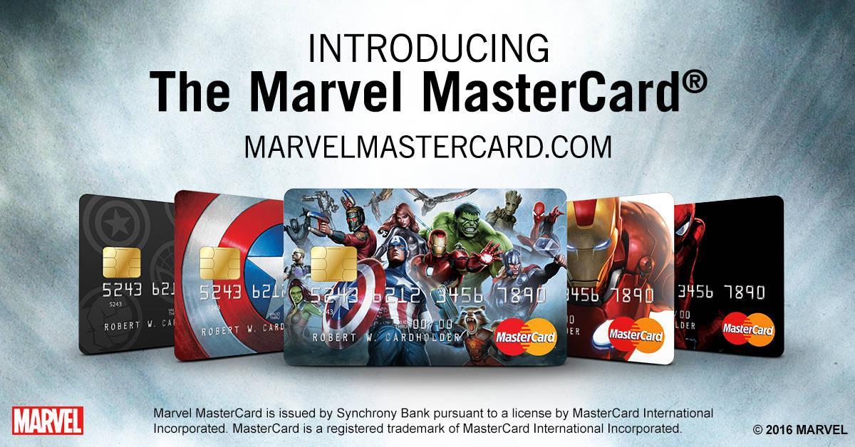marvel mastercard