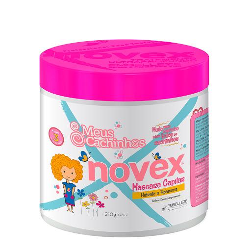 Bano De Crema Novex Cachinhos Para Ninos 210Ml Baño de crema Novex para niños
