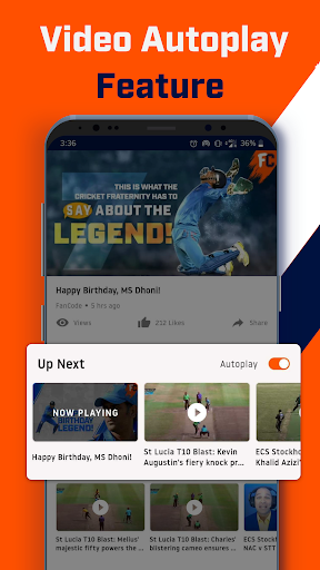 FanCode: IPL Live Scores, Cricket Videos & News ud83cudfcf 3.32.0 Screenshots 8