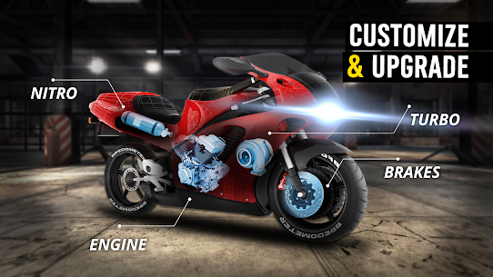 MotorBike: Traffic & Drag Racing I New Race Game 2