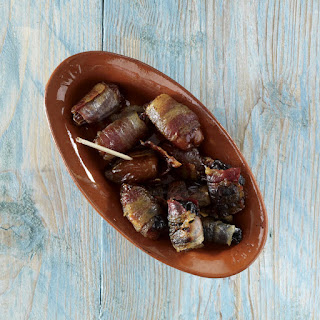 Bacon-Wrapped Prunes and Dates