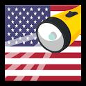 USA Flashlight - Brightest, Powerful Flashlight icon