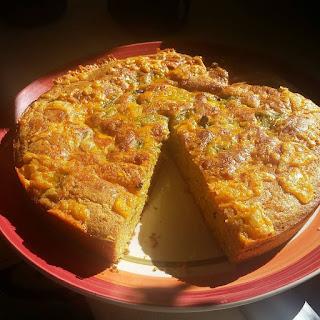 New Mexico Cheesy Green Chile Cornbread.