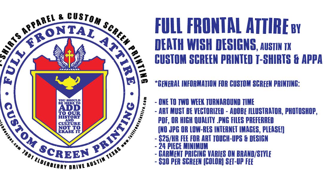 bbd10691ccc Full Frontal Attire - T-shirts DIY Screen Printing