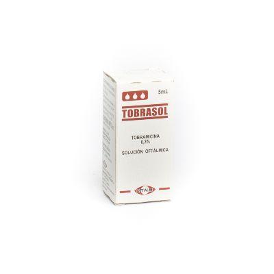 Tobramicina Tobrasol Solución Oftálmica 0,3% X 5 Ml Oftalmi