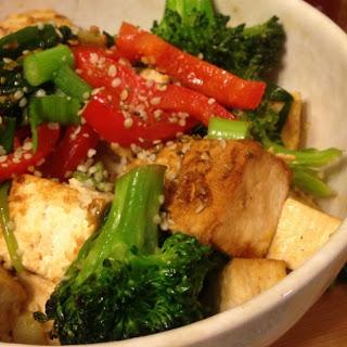 Ginger-Garlic Tofu Stir-Fry