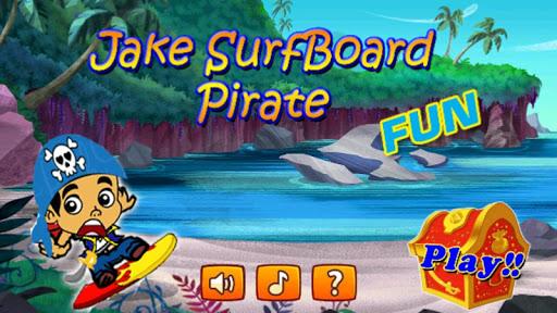 Jake SurfBoard Pirate