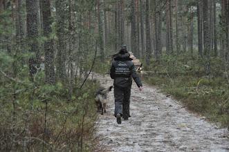 Photo: Tanja og Ulvehiets Barske Kahn er klare for rundering