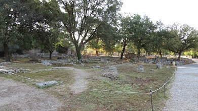 Photo: Next morning--Ancient Olympia!