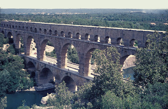 Photo: The famous Pont du Gard near Remoulins in France