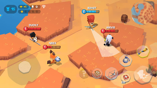Zooba: Free-for-all Zoo Combat Battle Royale Games apkslow screenshots 6