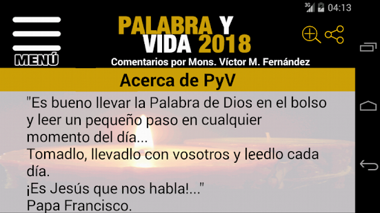 Palabra y Vida 2018- screenshot thumbnail