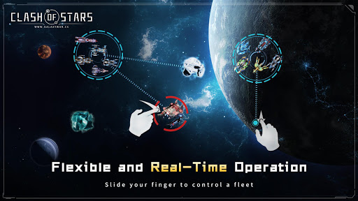 Clash of Stars: Strategy Space Game apklade screenshots 1