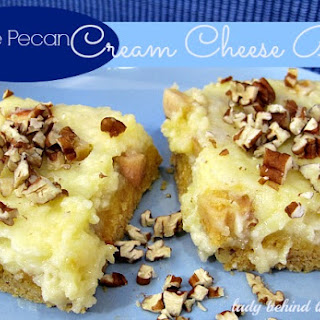 Apple Pecan Cream Cheese Bars.