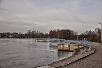 Photo: 68,5 km Rawa Mazowiecka zapora z MEW