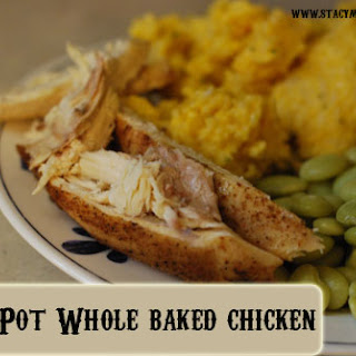Crock Pot Whole Baked Chicken.