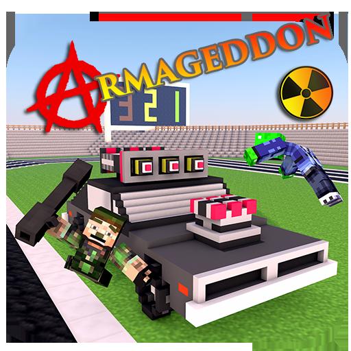 Legend Strike Armageddon Pixel Car 3D Gun Zombie