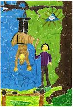 Photo: Praca konkursowa, 2001 r. Szymon, lat 12.