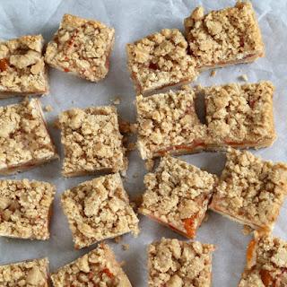 Gluten Free Apricot Crumble Bars