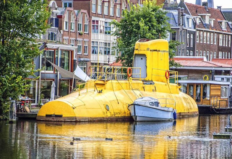 We all live in a yellow submarine. di Domenico del Rosso