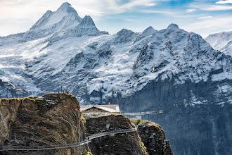 Photo: First Cliff Walk, Grindelwald, Switzerland
