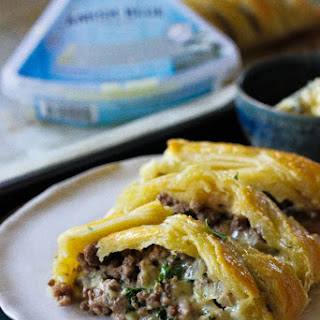 Beef Blue Cheese Braided Puff Pastry (giveaway!).