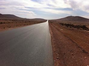 Photo: Road to Tan Tan