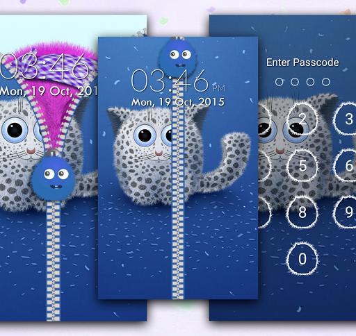 個人化必備免費app推薦 Fluffy Zipper Screen Lock線上免付費app下載 3C達人阿輝的APP