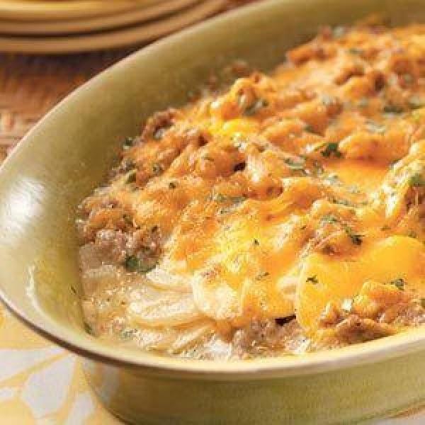Potato And Sausage Casserole Recipe