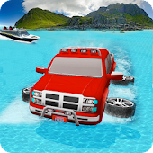 Water Surfer Car Drive Simulator