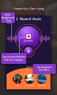 karaoke recorder create songs google play のアプリ