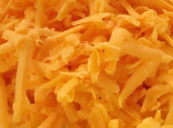 Sharp Cheddar Cheese... grated.