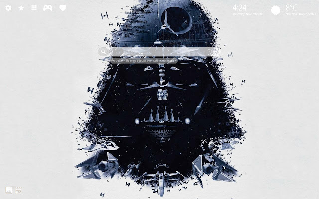 Darth Vader Star Wars Wallpapers New Tab