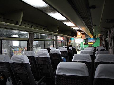 沿岸バス「特急はぼろ号」増毛経由便 ・404 車内