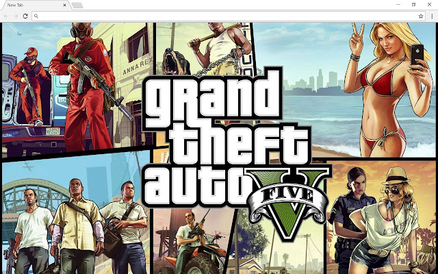 GTA 5 Grand Theft Auto Themes HD