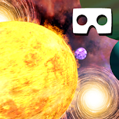 VR Solar System Roller Coaster (Google Cardboard) Android APK Download Free By Romale Game Studio