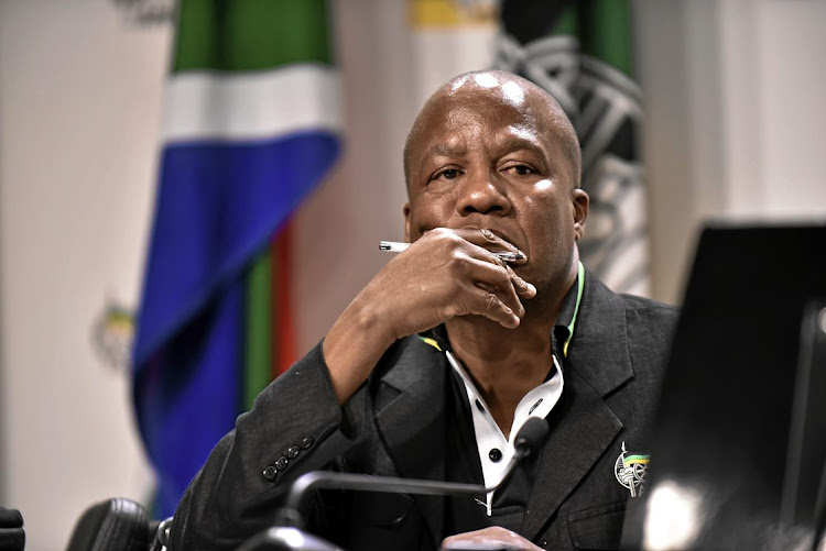Jackson Mthembu tagged a parody account on Twitter instead of the real Pravin Gordhan.