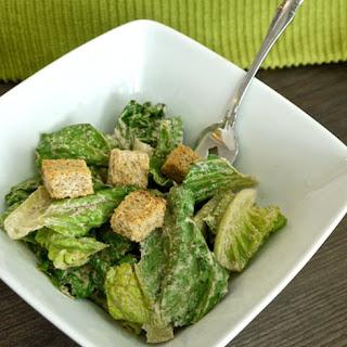 Raw Caesar Salad Dressing [Vegan].
